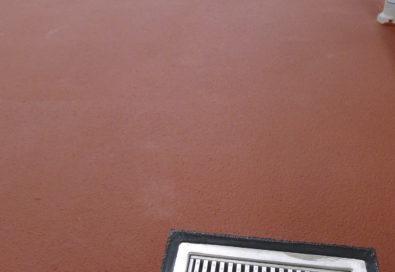 Hygienically sealed epoxy flooring