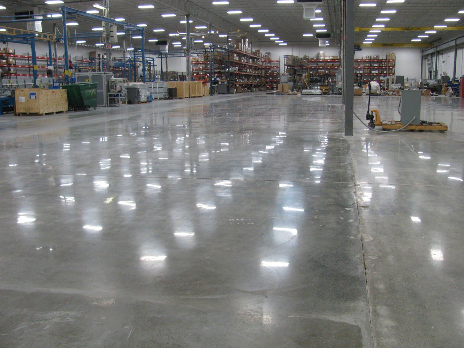 Промышленные бетонные покрытия