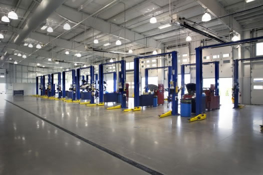 INDUSTRIAL FLOORING PROJECTS FOR STEEL MANUFACTURING COMPANY