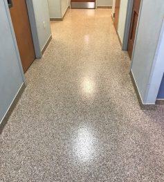 Health care epoxy flooring