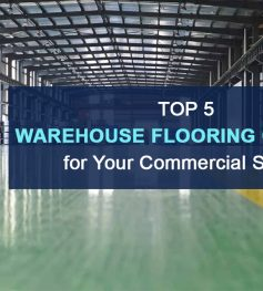 Warehouse Flooring Options for Your Commercial Space